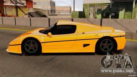 Ferrari F50 GT 1996 for GTA 4 left view