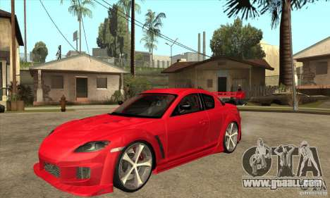 Mazda RX8 Slipknot Style for GTA San Andreas