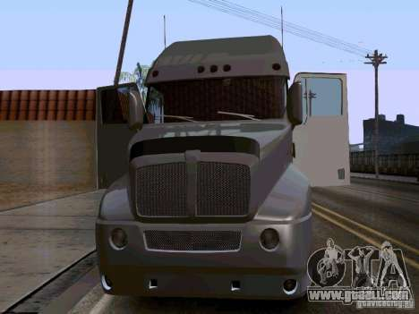 Kenworth T2000 v.2 for GTA San Andreas left view