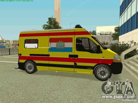 Renault Master Quick Samara for GTA San Andreas left view