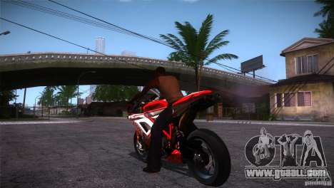 Ducati 1098 for GTA San Andreas back left view