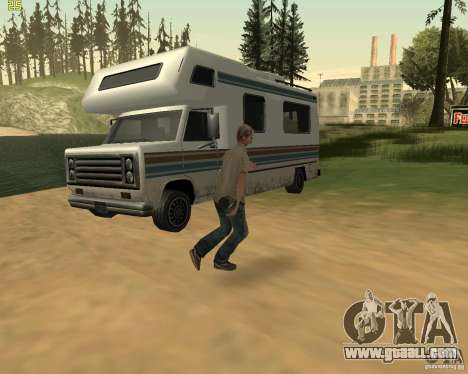 Party on the nature for GTA San Andreas tenth screenshot