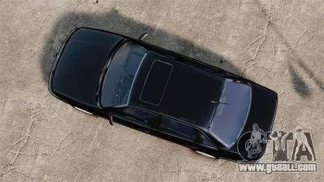 Volkswagen Passat B4 for GTA 4 right view