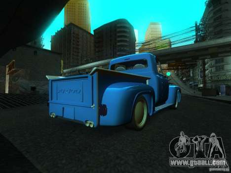 Ford FR 100 for GTA San Andreas left view
