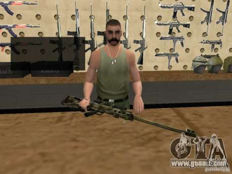M95 Barrett Sniper for GTA San Andreas