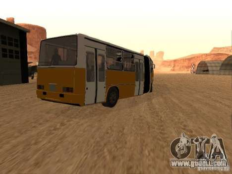 Trailer Ikarusu 280.46 for GTA San Andreas left view