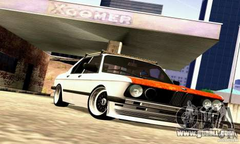 BMW E28 525e RatStyle No1 for GTA San Andreas inner view