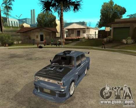 AZLK 2140 SX-Tuned for GTA San Andreas