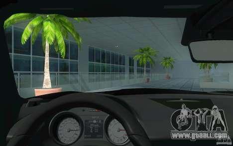 Mercedes Benz SLS HAMANN for GTA San Andreas inner view