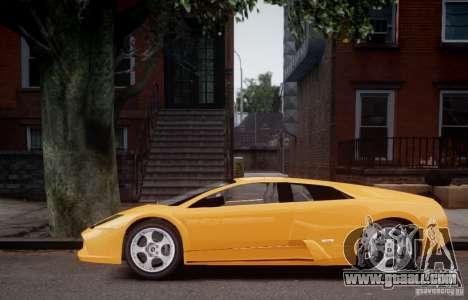 Lamborghini Murcielago for GTA 4 back left view