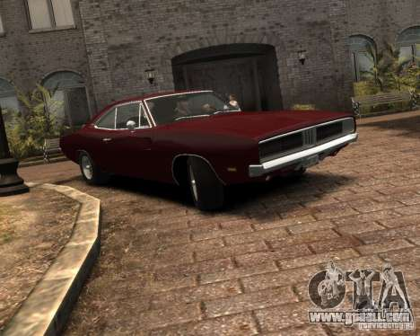 Dodge  Charger 1969 for GTA 4 left view