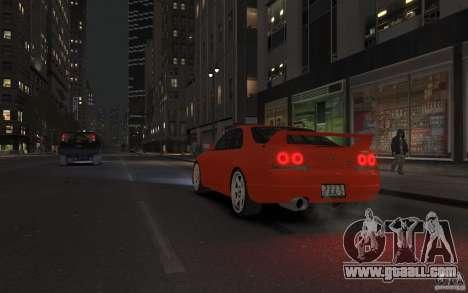Nissan Skyline for GTA 4 inner view