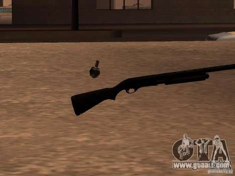 Remington 870 Action Express for GTA San Andreas second screenshot