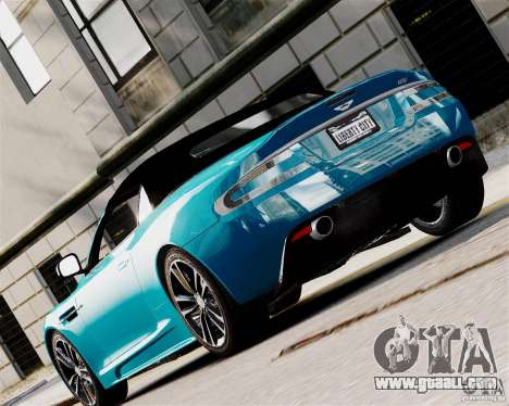 Aston Martin DBS Volante 2010 v1.5 Diamond for GTA 4 right view