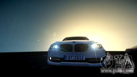 BMW GT F07 2012 GranTurismo for GTA 4 back view