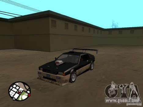 New parts for tuning for GTA San Andreas forth screenshot