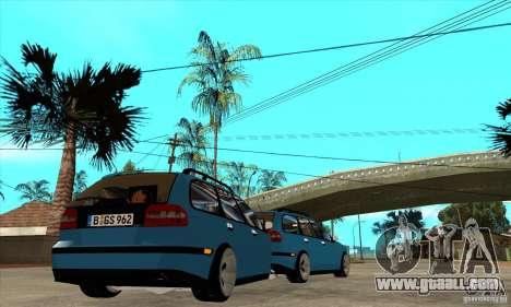 Volvo V40 Gespann for GTA San Andreas right view