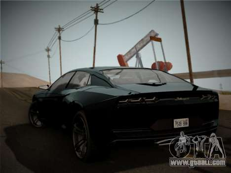 Lamborghini Estoque Concept 2008 for GTA San Andreas