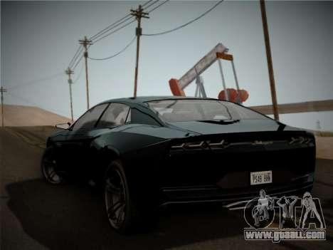 Lamborghini Estoque Concept 2008 for GTA San Andreas right view