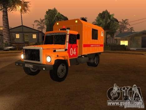 Gaz 3309; for GTA San Andreas