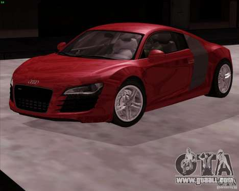 Audi R8 Production for GTA San Andreas