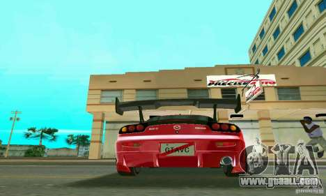 Mazda RX7 Charge-Speed for GTA Vice City back view