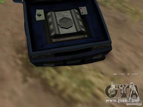 Willard Drift Style for GTA San Andreas back view