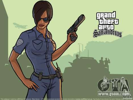 Beautiful boot screen for GTA San Andreas fifth screenshot