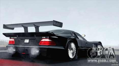 Mercedes-Benz CLK GTR Race Car for GTA San Andreas left view