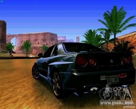 ENBSeries by S.T.A.L.K.E.R for GTA San Andreas second screenshot