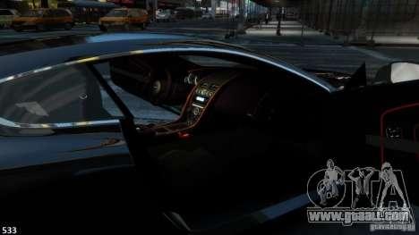 Aston Martin Virage 2012 v1.0 for GTA 4 right view