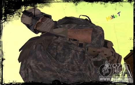 United States Infantryman for GTA San Andreas third screenshot