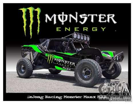 Boot screen Monster Energy for GTA San Andreas