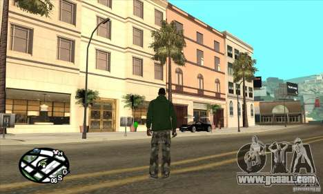 Empire of CJ v.3.8.0 for GTA San Andreas eighth screenshot