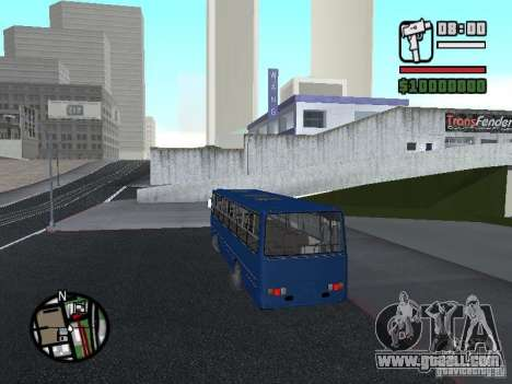 Ikarus 260.51 for GTA San Andreas back view