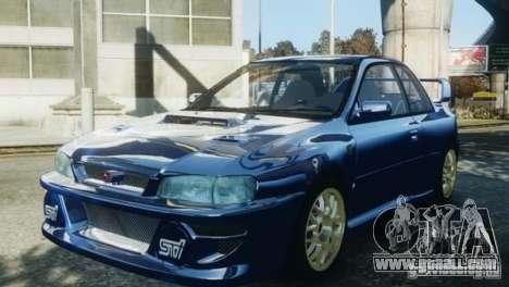 Subaru Impreza 22B 1998 for GTA 4 right view