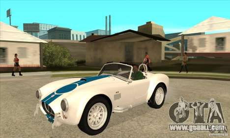 AC Shelby Cobra 427 1965 for GTA San Andreas