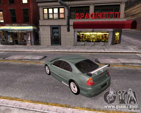 Chrysler 300M tuning for GTA San Andreas inner view