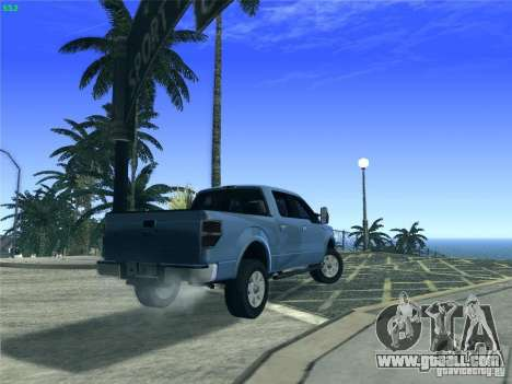 Ford F-150 2013 for GTA San Andreas back view