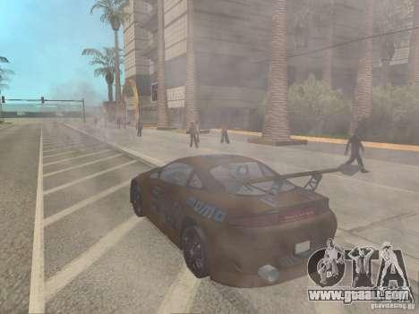 Mitsubishi Eclipse for GTA San Andreas left view