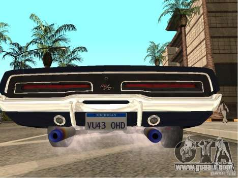 Dodge Charger RT Light Tuning for GTA San Andreas back left view