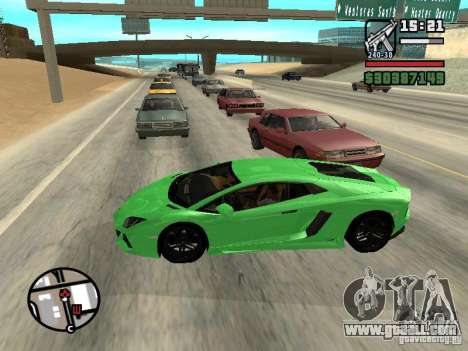 Automobile Traffic Fix v0.1 for GTA San Andreas