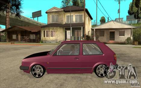 VW Golf 2 GTI for GTA San Andreas left view