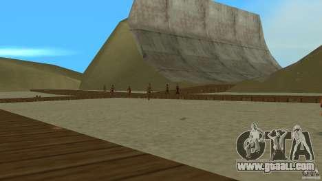 Vice City Beach-Park for GTA Vice City second screenshot