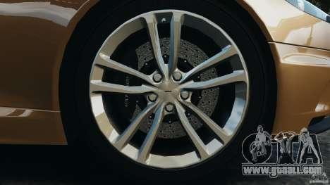 Aston Martin DBS Volante [Final] for GTA 4 bottom view