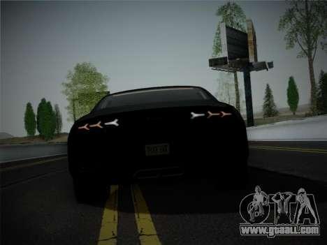 Lamborghini Estoque Concept 2008 for GTA San Andreas bottom view