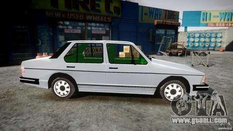 Volkswagen Jetta 1981 for GTA 4 back view