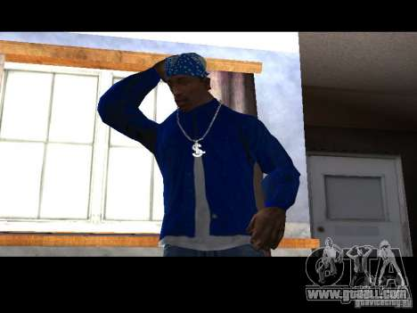 Piru Street Crips for GTA San Andreas third screenshot