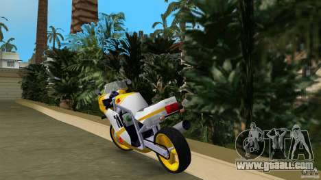 Suzuki GSX-R 750 1989 for GTA Vice City back left view