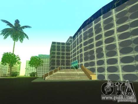 New building in LS for GTA San Andreas fifth screenshot